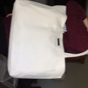 Authentic jimmy choo tote bag more cream color